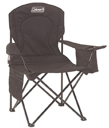 Coleman Cooler Quad Chair,블랙