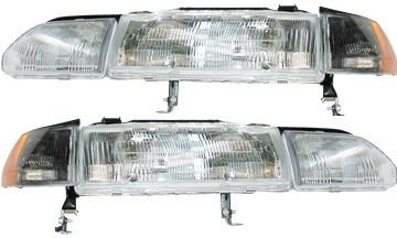 Amazoncom NEW Acura Integra Headlight Headlamp - 1991 acura integra headlights