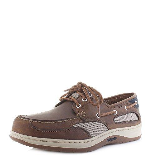 (Sebago Men's Clovehitch II Boat Shoe,Walnut,9.5 W US)