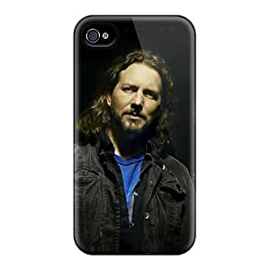Excellent Hard Phone Case For Iphone 4/4s (hti1405aoVS) Customized HD Pearl Jam Music Pattern