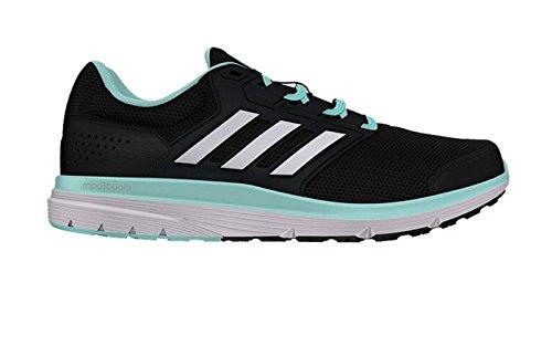 Adidas Galaxy 4 w, Zapatillas de Running para Mujer, Negro (Negro/(Negbas/Ftwbla/Aquene) 000), 37 1/3 EU: Amazon.es: Zapatos y complementos