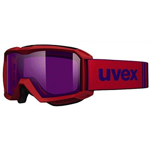 UVEX enfants flizz stimu Lens Lunettes de ski taille unique Rouge mat