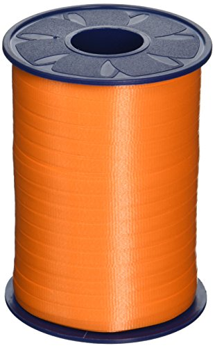 Morex Poly Crimped Curling Ribbon, 3/16-Inch by 500-Yard, Orange Curling Ribbon 500 Yard Spool