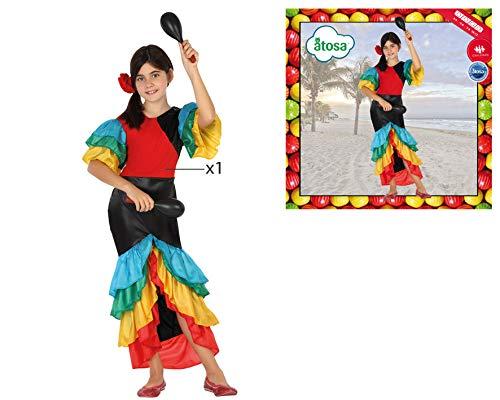 Atosa 26869 - Samba, niño, tamaño 104, colorido: Amazon.es ...