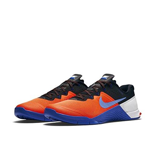 Zapatos De Entrenamiento Nike Metcon 2 Cross Racer Azul / Blanco / Azul Intenso Profundo