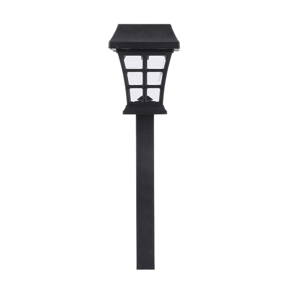 4 paquetes Luces decorativas para el jard/ín solar al aire libre Luces del paisaje solar para patio//Patio//Calzada//Calzada//C/ésped Luces solares impermeables para el camino