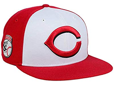 '47 Cincinnati Reds Snapback Adjustable One Size Fits All Hat Cap - Red and White