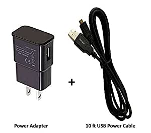 Amazon.com: firePower USB Power Adapter + 10-Ft Long USB