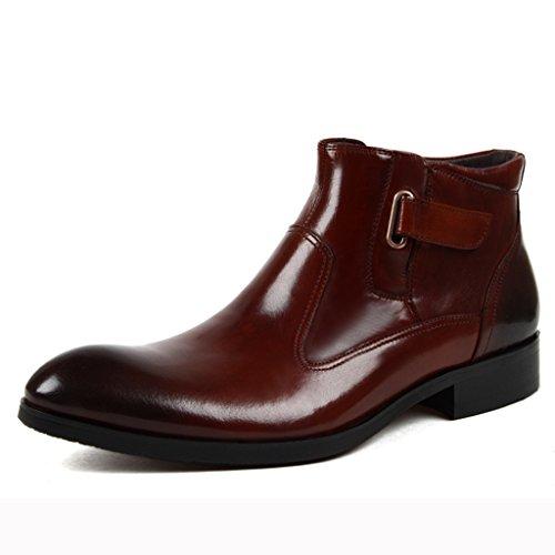 f8657c659961 Herren Lederschuhe Herren Lederschuhe Martin Stiefel High-Top-Schuhe wies britischen  Stil kurze Stiefel