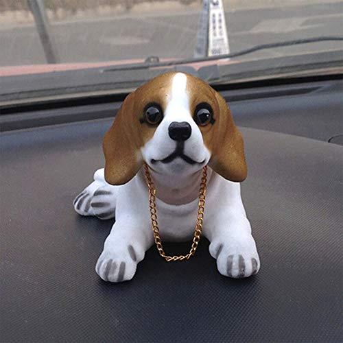 Car Decoration Accessories, Cute Dog Model Car Decoration, Suitable for Car/Desktop Decoration,E