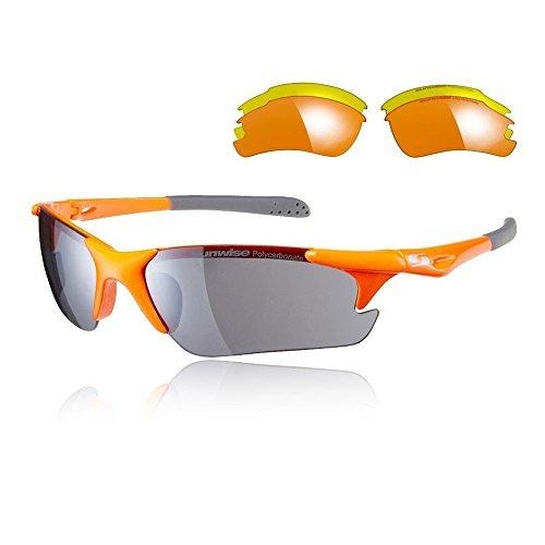 SUNWISE de Intercambiables Twister Naranja Negro Gafas Sol r7wrUqPR