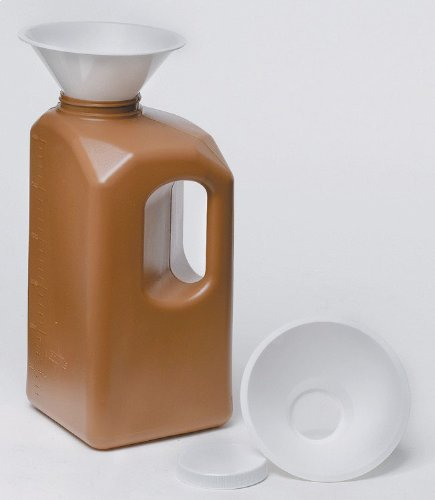 Medline DYND80024 24 hours Urine Collection Bottle, 3000 ml (Pack of 20)