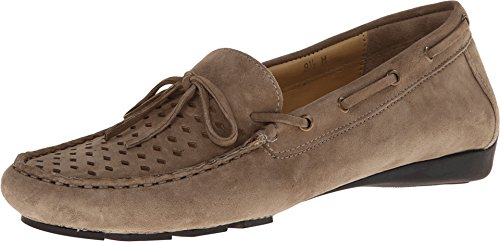VANELi Women's Ruby Taupe E-Suede/Camel Leather S&L Loafer 10 M (B)