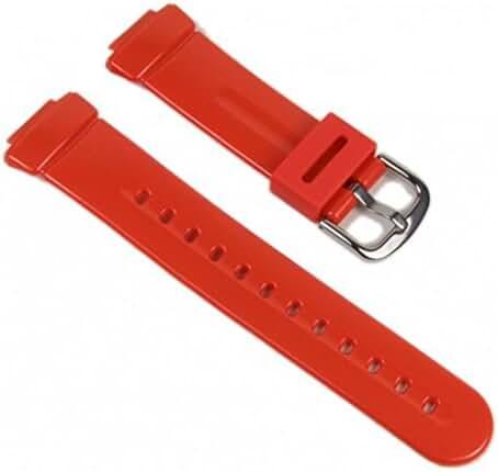Casio watch strap watchband Resin Band Orange BG-1006SA-4BV BG-1006SA