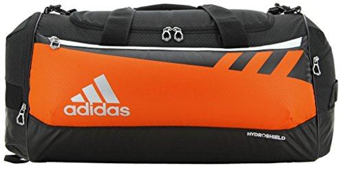 Adidas Team Issue Duffel Bag, Orange, Medium