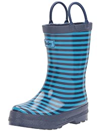 Hatley Kids Rain Boots - Navy Striped