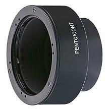 Novoflex PENTQ/CONT Adapter Contax/ Yashica Lenses to Pentax Q Body (Black)
