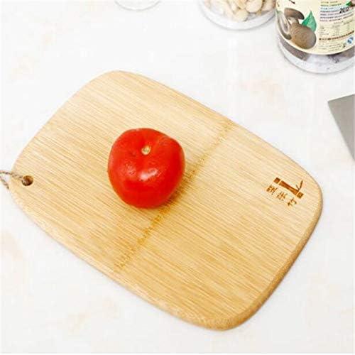 Schneidebrett Küche Schneideblock Werkzeug Bambus Schneidebrett Anti Rutsch Antibakterien Obst Gemüse Schneideblock Messer Brett Küche Gadget