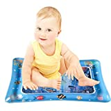 """Highpot tapete Inflable para el Agua del bebé, el Perfecto Centro de Actividad para Jugar en el Tiempo de diversión para estimular el Crecimiento de su bebé, B, 19.7"""" x 23.6"""", 1"""