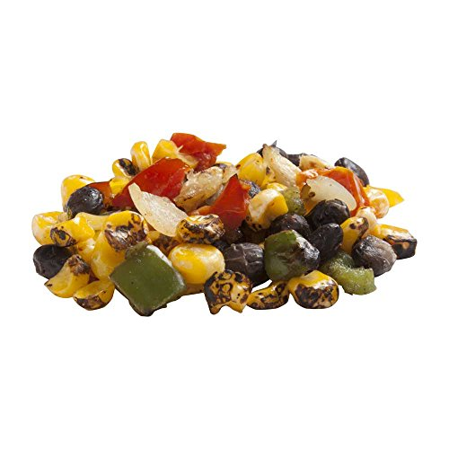 Roast Works Flame Roasted Corn and Black Bean Fiesta Mix - 2.5 lb. package, 6 packager per case -