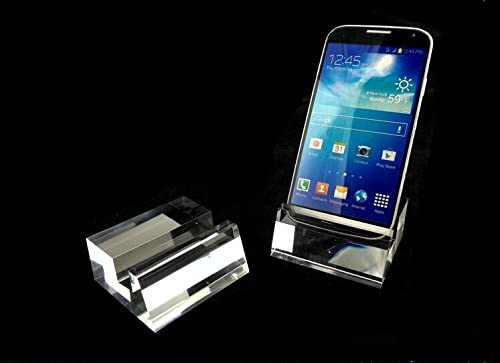 10pcs High-end Clear Acrylic Large Screen Cell Phone Display Stand Mounts