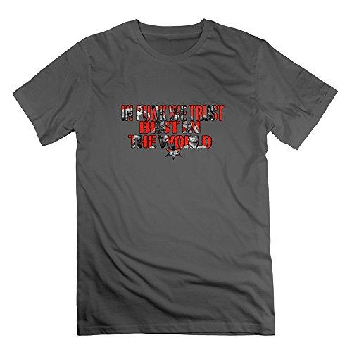 Wwe M Punk Costumes - Seico Men Cm Punk Wrestler Tshirts DeepHeather Size M