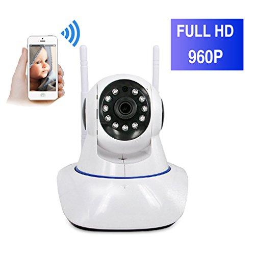 ShengyaoHul 960P HD Indoor Babyphone Plug-And-Play, 1.3 Mp Sistema Di Telecamere Di Sicurezza Casa Ip / Voce Bidirezionale / Citofono Vocale / Viene Con Pan / Tilt Telecamera Di Sorveglianza Ip