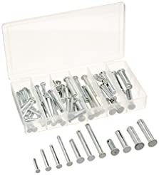 Neiko 50414A Clevis Pin Assortment, 60 P...