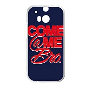 HTC One M8 Cell Phone Case White Come At Me ISU315798