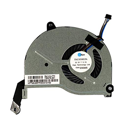 Price comparison product image New CPU Cooling Fan For HP Pavilion 15-N000 15-N100 15-N200 15-n208ax 15-n208sf 15-n053sf P / N:732068-001 736218-001 BSB0705HC-DC20 4-wire