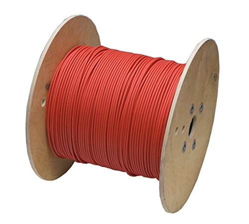 Bulk Solar Cable #8 PV Cable 1000V x 500' Spool RED by General