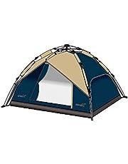 خيمة صحاري مزدوجة تتسع لاربعة اشخاص مع خاصية الفتح السريع - قياس 210 * 210 * 130 سم - ALX002