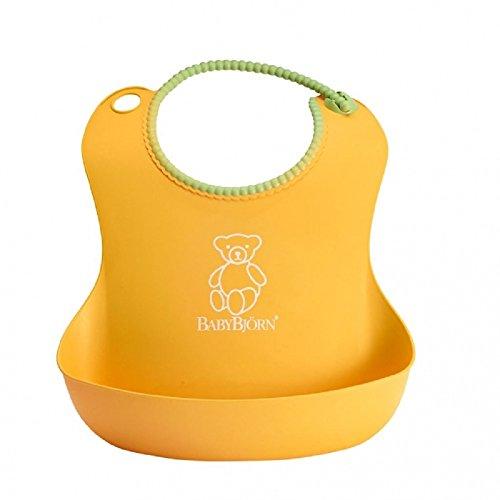 BABYBJÖRN Soft Bib, Yellow