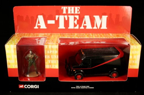 THE A-TEAM VAN with Hand-Painted B.A. Baracus Figure for sale  Delivered anywhere in USA