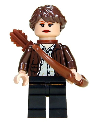 2 Hunger Games Mini Figurine - Katniss Everdeen in District 12 Clothing by LEGO