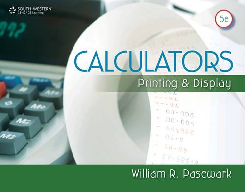 Calculators: Printing and Display (Business - Printing 5th