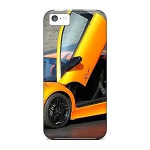 For Iphone 5c Phone Cases Covers(lamborghini Murcielago Sv)