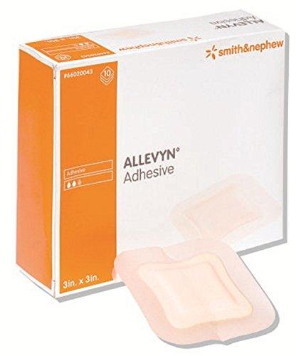Allevyn - Foam Dressing Allevyn 5 X 5 Inch Square Adhesive with Border Sterile - 10/Box - McK by Allevyn