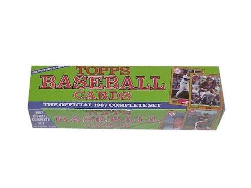 Topps 1987 Baseball Cards Factory Set
