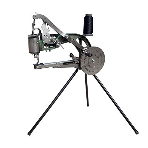 Uttiny Hand Machine Cobbler Shoe Repair Machine Dual Cotton Nylon Line Sewing Machine