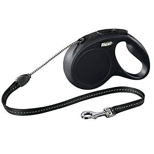 Flexi Compact - Flexi New Classic Cord Lead, Medum, 5 M, Black Rosewood Code 12444