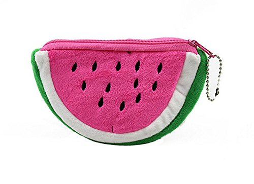mk. park - New Hot Girl Kids Sweet Fruit Hand Bag Card Wallets Purse Cartoon Coins Backpack (watermelon - Speedy Coupon Metals