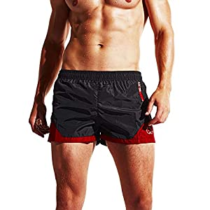 KOESON Men's Beach Swim Trunks Quick Dry Shorts Surf Sport Swimsuit