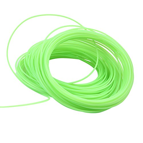 Soyan Universal 3D Pen Filaments, 82 Feet, 1.75mm Non-Toxic PLA, Glows in the Dark, 3D Printing Material (Green)
