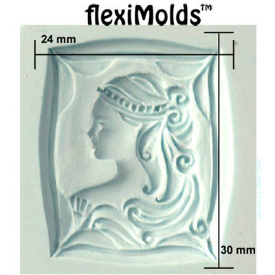 Fleximold Framed Cameo Mold Art Clay World USA Inc.
