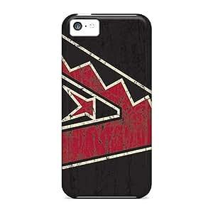 linJUN FENGFor ipod touch 5 Protector Cases Arizona Diamondbacks Phone Covers
