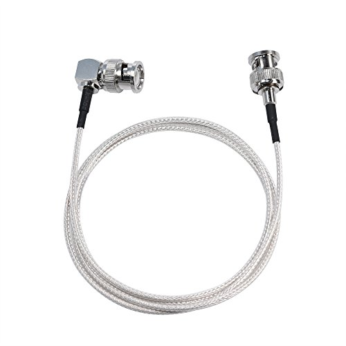 - MOKOSE 3.3Ft(1M) 3G HD-SDI Cables 90 Degree Right Angle 75 Ohm SDI BNC Male Silver-plated Coax Cable, BNC to BNC