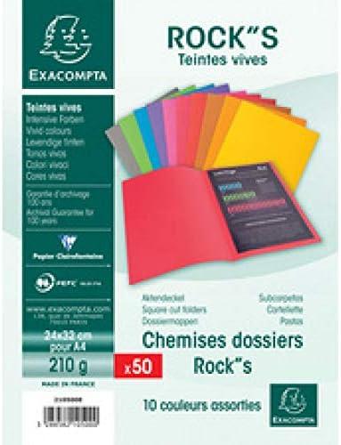 EXACOMPTA 210500E Aktendeckel FOREVER 180 DIN A4 Rosa