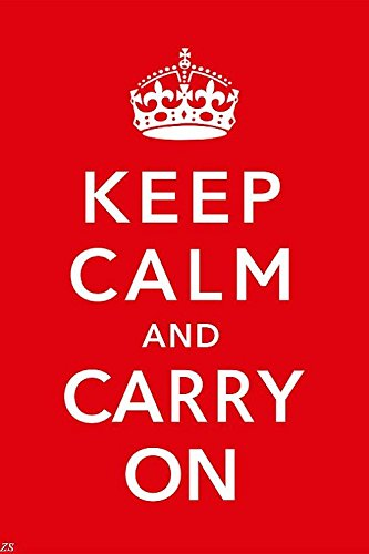 Lawrence Painting Keep Calm And Carry On Wall Posters Hd Home Decor Inspirational Quotes Picture Posters Customized Modern Office Decor 03