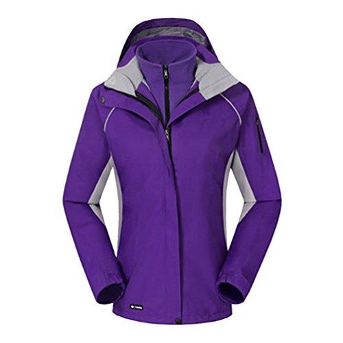 De Chasse Imperméable Jacket Veste Violet vent Softshell Couches Femmes Sport Et Mountain Trekking Automne Ski Hiver Zkoo 2 Coupe Polaire Travail 1T5Oq7Iw